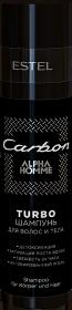 ALPHA HOMME CARBON TURBO-шампунь для волос и тела, 250 мл